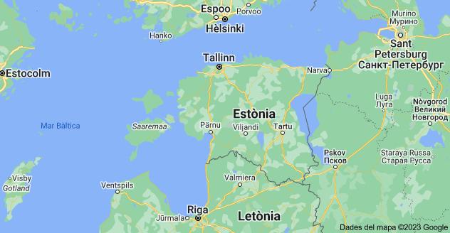 Mapa: Estònia